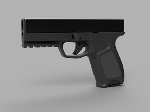 Frame for KJW airsoft Glock 23 (G19 with 40SW markings)