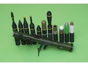 Ammunition for the Carl Gustaf M4 (Ammunition only)