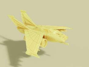 1.21 gigawatt attack fighter from the far future