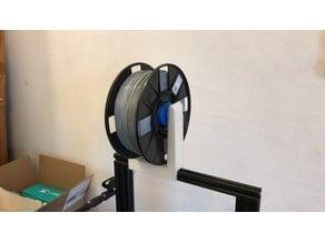 Spool Holder com Guia de filamento (with filament guide)