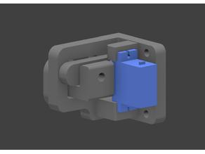 Simple secure lock on SG90