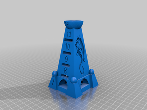 Blue Moon City Obelisk