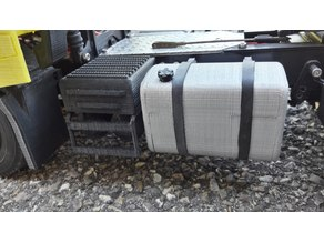 rc truck 1/14 battery box