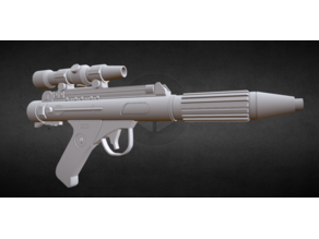 DH-17 blaster high details - import from sketchfab!