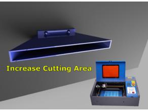 K40 Improved Vent For K40 Laser Cutter