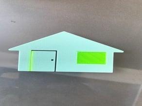 Multi Material House Test (PLA & FLEX)