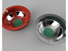 Pokeball with Internal Details (with button-release lid)