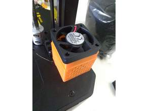 Creality LD002R Resin Printer Chamber Fan / Carbon Pellet Filter Box
