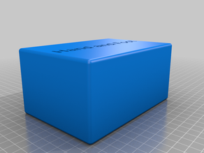 Card Box for Hand and Foot