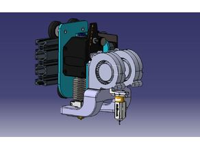 Sidewinder X1 Fanduct for BMG/V6/Volcano/BLT/2x 5015