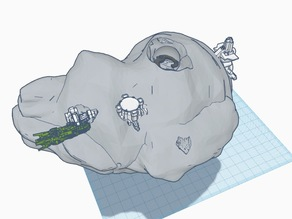 Asteroid Base (Dual Extruder)