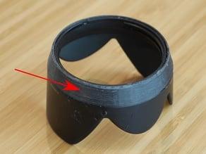 Lens hood repair ring for H-VS014140