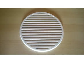 Heavy Duty Vent / Grille with Fixing Rim