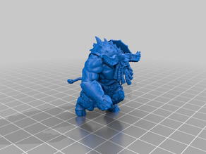 Chaos Dwarf Minotaur - Anvils of Doom