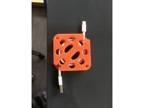 USB Kabelaufwicklung