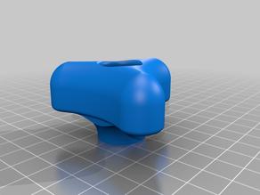 Curvy Star Knob for Lawnmower Handle