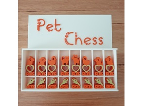 Pet Chess and display box