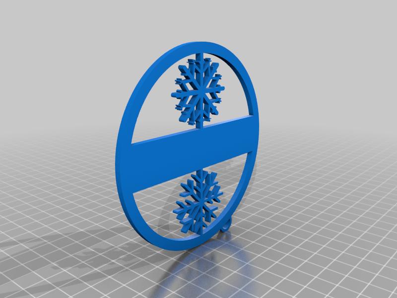 snowflakes gift