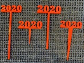 2020 Graduation ??? Party Picks and Swizzle Sticks