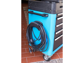 cable & pneumatic hose holder for Hazet tool trolley