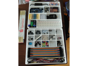 Organizer for random arduino parts (fitted for Ender 3)