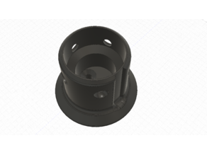 Low Profile Fanatec CSW/Podium Wheel Wall Mount