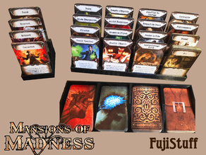 Card Tray for Mansions of Madness V2