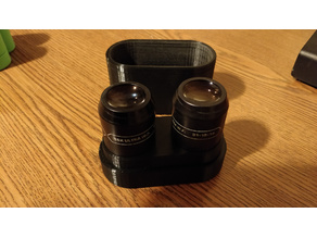 Eyepiece Case for Bauch & Lomb 31-15-74 15x UWF eyepieces (may fit others)