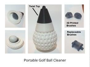 Portable Golf Ball Washer