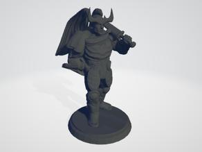 Demon Soldier - Single Sword (See Description!)