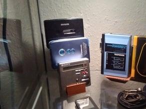 Walkman/music player stand (4x)