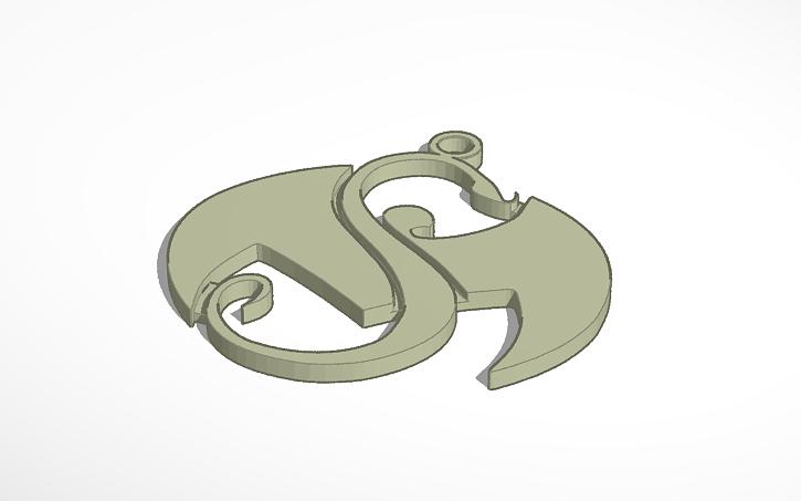 Strange Music Chain Pendant By Zwxq3 Thingiverse