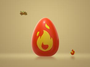 Egg Dofus Crimson / Oeuf Dofus Pourpre