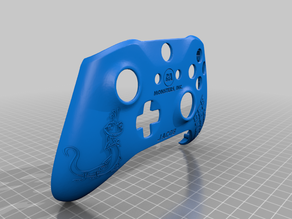 Xbox One S Custom Controller Shell: Christmas for Jacob and Caleb Editions
