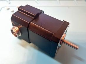 Nema 17 stepper motor cover for GX16 socket