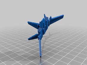 "X-Wing Scale: Alpha Class XG-1 Starwing, ""Gunboat"""