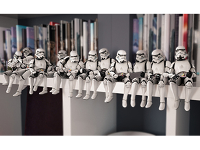 Lunch atop a shelf (StarWars Troopers)