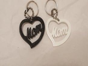 mom inside heart