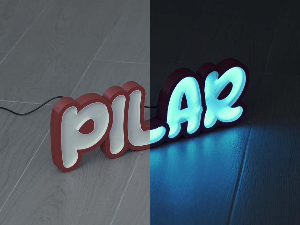 LED Marquee Pilar