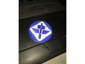 "Sign of the Hammer ""Manowar"" badge"
