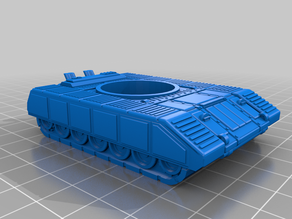 15mm Sci-fi Tracked Vehicle Valiant MK1 Tank