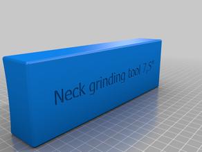 """Guitar neck grinder 7,5"""", 10"""" and 15"""" for fret dressing jobs"""