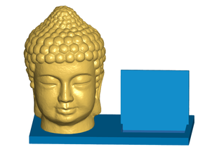 Buddha Bust Business Card Holder (Expandable)