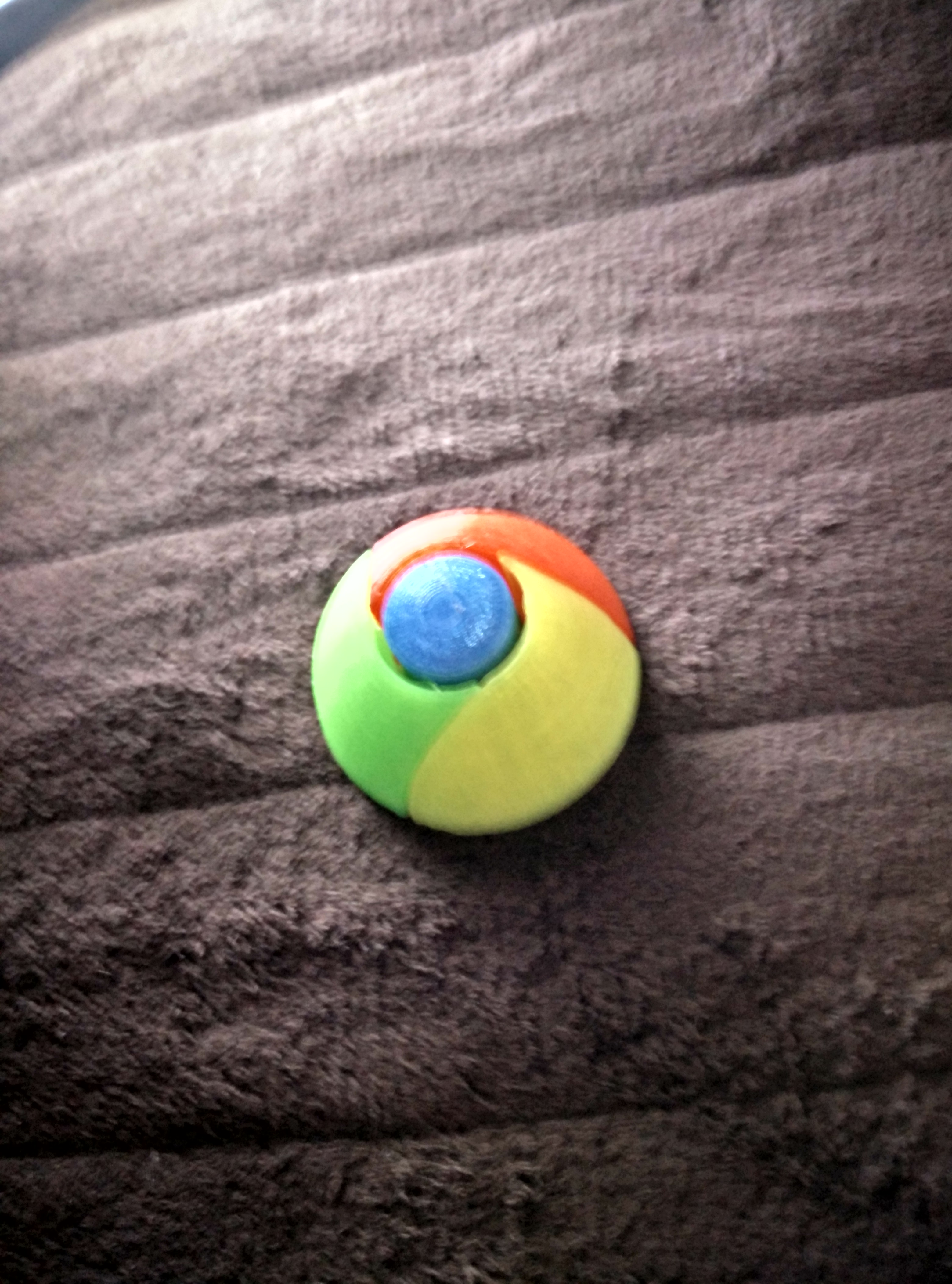 Google Chrome 3D Logo by SydneyMakersHub