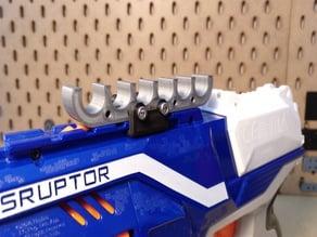 Modular dart holder for 4 - 10 Nerf darts