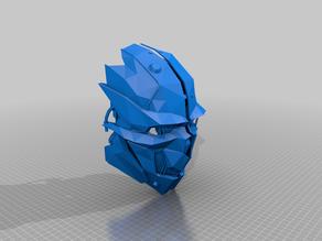 dishonoured mask - cosplay scale