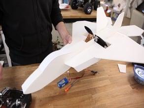 FT Mighty Mini F-22 laser cut files