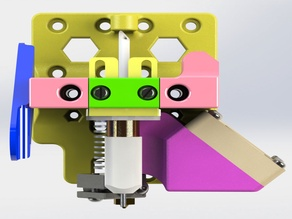 40mm x 10mm Low Profile Fan Mount for E3D V6