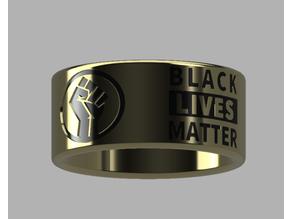 Black Lives Matter Ring