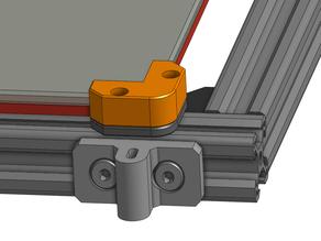 Rat Rig V-Core 330x330 Glass bed corners